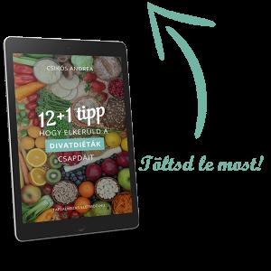 Csikós Andrea - 12 tipp, hogy elkerüld a divatdiéták csapdáit - Genetikai alapú táplálkozás